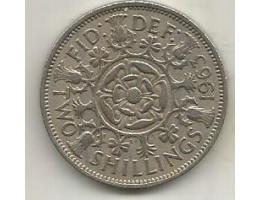 United Kingdom 2 shillings (florin), 1963 (A9)