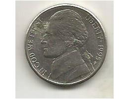 USA 5 cents 1995 P (9) 2.58