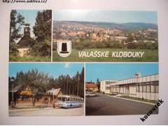 236bc285bc4 Valašské Klobouky celkový pohled hotel Ploština autobus - aukce ...